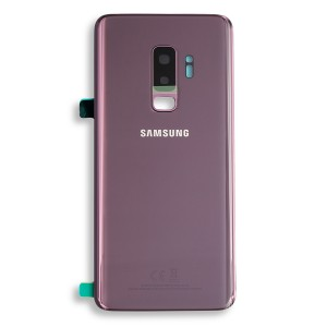 Back Glass with Adhesive for Galaxy S9+ (Prime - OEM) - Lilac Purple