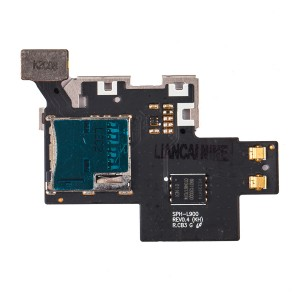 Sim Tray Flex Cable for Samsung Galaxy Note 2 (L900)