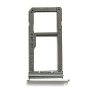 Sim Card Tray for Galaxy S7 Edge - Silver