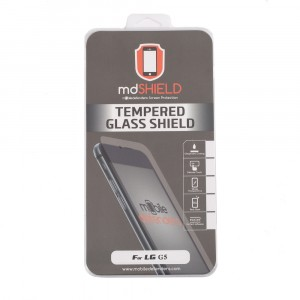 Tempered Glass Shield (0.33mm) for LG G5 (MD Packaging)