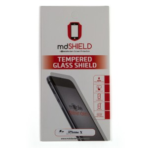 MD Tempered Glass for iPhone X