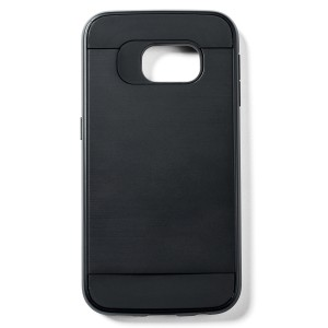 Fashion Style Case for Samsung Galaxy S6 Edge - Black