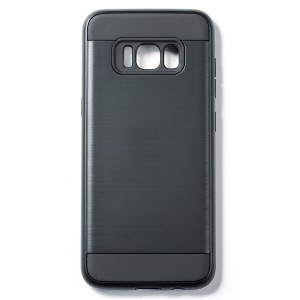 Tough Fashion Style Case for Samsung Galaxy S8 - Black