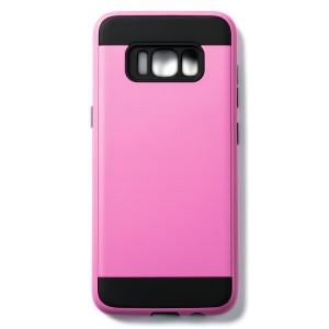 Tough Fashion Style Case for Samsung Galaxy S8 - Pink