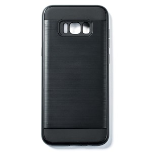 Tough Fashion Style Case for Samsung Galaxy S8+ - Black