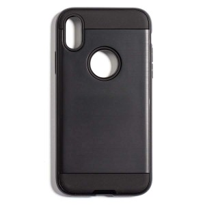 Tough Fashion Style Case for iPhone X - Black