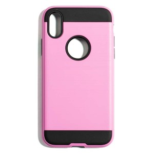 Tough Fashion Style Case for iPhone X - Pink