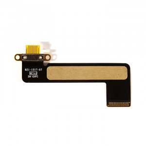 Charging Port Flex Cable for iPad Mini - White