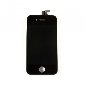 LCD & Digitizer Frame Assembly for iPhone 4 CDMA - Black