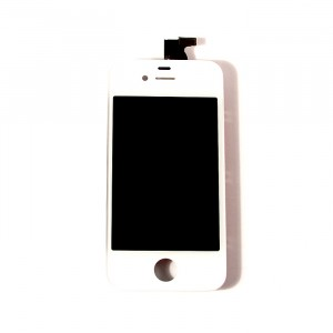 LCD & Digitizer Frame Assembly for iPhone 4 CDMA - White