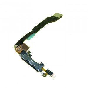 Charging Port Flex Cable for iPhone 4 CDMA - Black