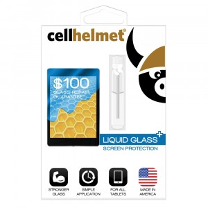 cellhelmet Liquid Glass+ Screen Protection (Tablet)