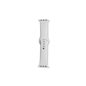 Silicone Apple Watch Band (38mm/40mm) - White
