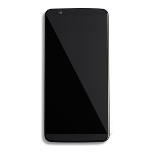 LCD & Digitizer Framed Assembly for OnePlus 5T (A5010) - Black
