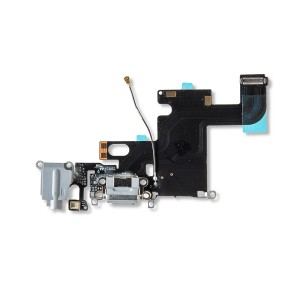 Charging Port Flex Cable for iPhone 6 - Dark Gray