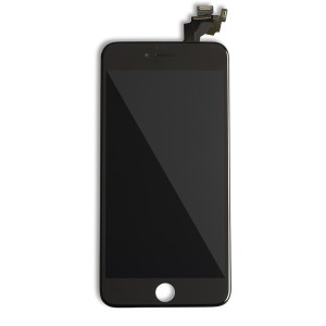 LCD Frame Assembly with Small Parts for iPhone 6 Plus (EXPRESS) - Black