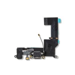 Charging Port Flex Cable for iPhone SE - Black