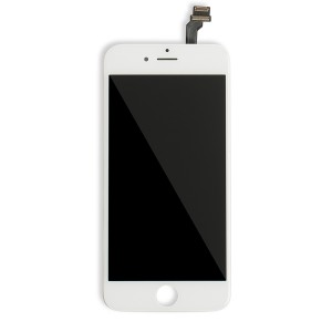 LCD Frame Assembly for iPhone 6 (BASIC) - White (Bulk Pricing Available)