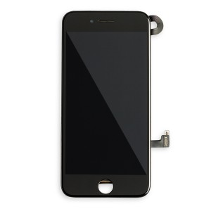 LCD Frame Assembly with Small Parts for iPhone 7 (EXPRESS) - Black