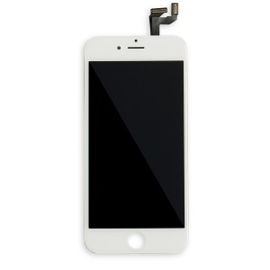 LCD Frame Assembly for iPhone 6S (BASIC) - White (Bulk Pricing Available)