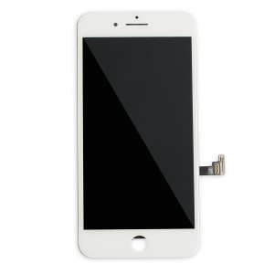 LCD Frame Assembly for iPhone 8 Plus (BASIC) - White (Bulk Pricing Available)