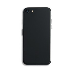 Back Housing with Small Parts for iPhone 8 (GENERIC) - Space Gray