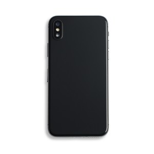 Back Housing with Small Parts for iPhone X (GENERIC) - Space Gray
