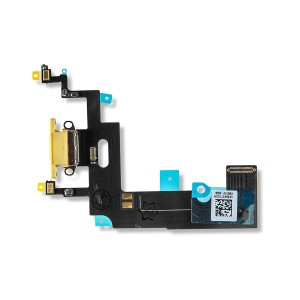 Charging Port Flex Cable for iPhone XR - Yellow