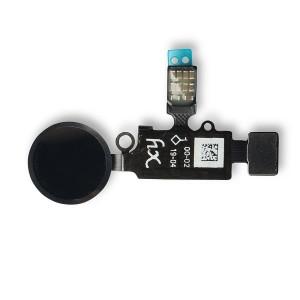 HX Home Button Flex Cable for iPhone 7 / 7+ / 8 / 8+ - Black (Universal - V3)