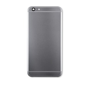 Back Housing with Small Parts for iPhone 6 Plus (GENERIC) - Space Gray