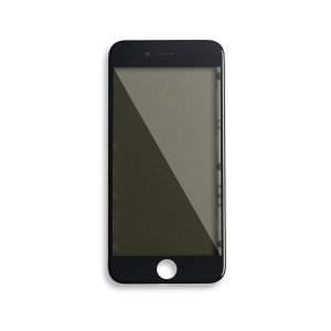 Glass with Frame / OCA / Polarizer Pre-Installed for iPhone 6 - Black
