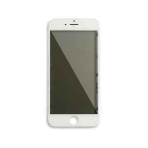 Glass with Frame / OCA / Polarizer Pre-Installed for iPhone 6 - White