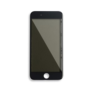 Glass with Frame / OCA / Polarizer Pre-Installed for iPhone 8 - Black