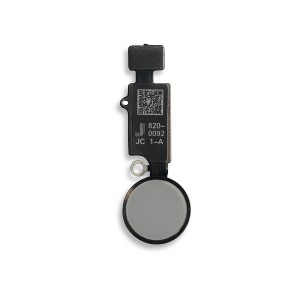 JC Home Button Flex Cable for iPhone 7 / 7+ / 8 / 8+ - Silver (Latest Version)