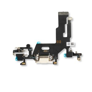 Charging Port Flex Cable for iPhone 11 - White