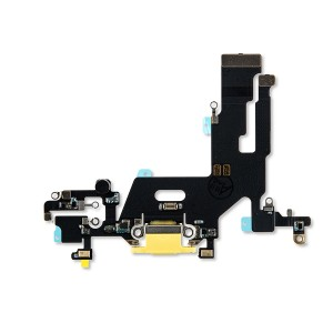 Charging Port Flex Cable for iPhone 11 - Yellow