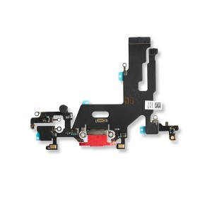 Charging Port Flex Cable for iPhone 11 - Red