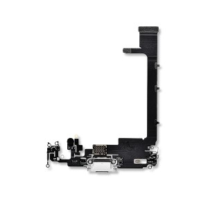 Charging Port Flex Cable for iPhone 11 Pro Max - Silver