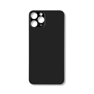 Back Glass (Large Lens Cutout) for iPhone 11 Pro (Generic) - Space Gray