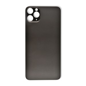 Back Glass (Large Lens Cutout) for iPhone 11 Pro Max (Generic) - Space Gray