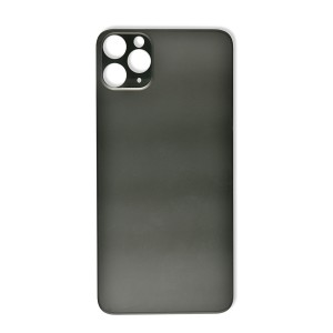 Back Glass (Large Lens Cutout) for iPhone 11 Pro Max (Generic) - Midnight Green