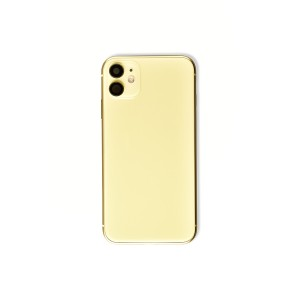Back Housing with Small Parts for iPhone 11 (GENERIC) - Yellow