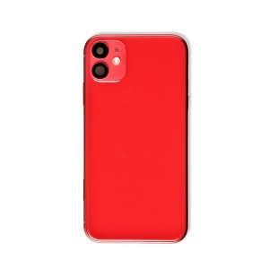 Back Housing with Small Parts for iPhone 11 (GENERIC) - Red