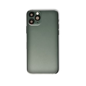 Back Housing with Small Parts for iPhone 11 Pro (GENERIC) - Midnight Green