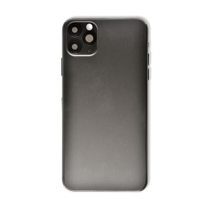 Back Housing with Small Parts for iPhone 11 Pro Max (GENERIC) - Space Gray