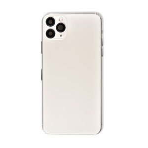 Back Housing with Small Parts for iPhone 11 Pro Max (GENERIC) - Silver