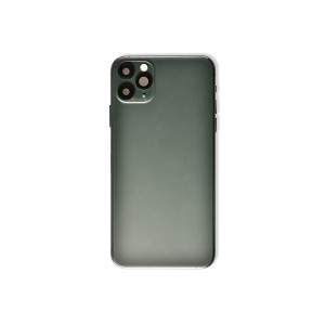 Back Housing with Small Parts for iPhone 11 Pro Max (GENERIC) - Midnight Green