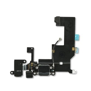 Charging Port Flex Cable for iPhone 5 (SELECT) - Black