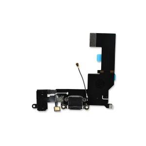 Charging Port Flex for iPhone SE (SELECT) - Black