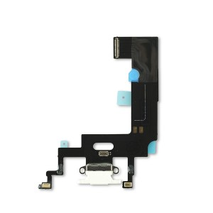 Charging Port Flex for iPhone XR (SELECT) - White